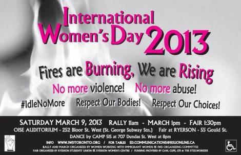IWD March 9, 2013